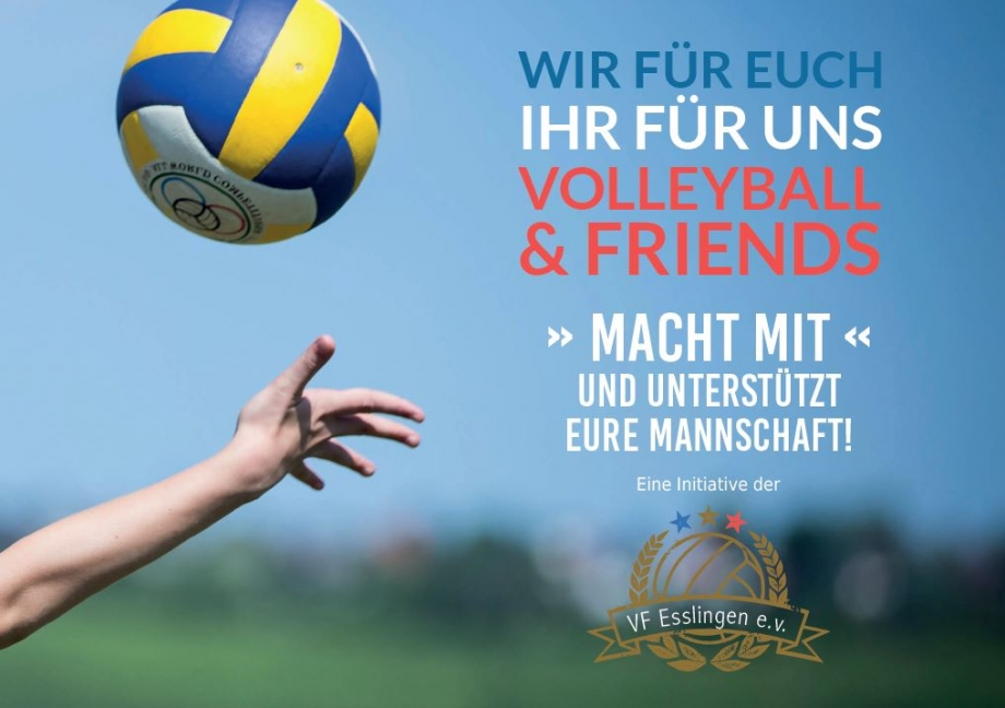volleyball and friends sv1845 esslingen