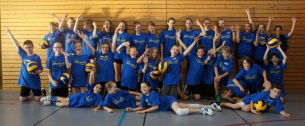 Esslinger Volleyball Trainingscamp 2014